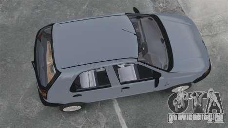 Fiat Palio EDX 1997 для GTA 4 вид справа