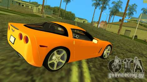 Chevrolet Corvette C6 для GTA Vice City вид справа