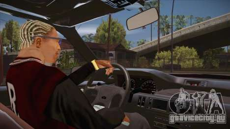 CLEO скрипт: вид из кабины для GTA San Andreas второй скриншот