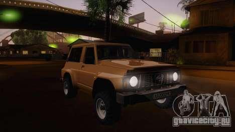 Nissan Patrol Y60 для GTA San Andreas вид сбоку