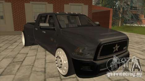 Dodge Ram Laramie Low для GTA San Andreas вид слева