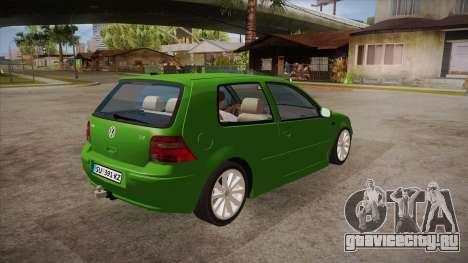 Volkswagen Golf Mk4 для GTA San Andreas вид справа