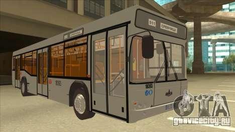 511 Sremcica Bus для GTA San Andreas вид слева