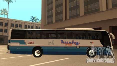 Husky Tours 2288 для GTA San Andreas вид сзади слева