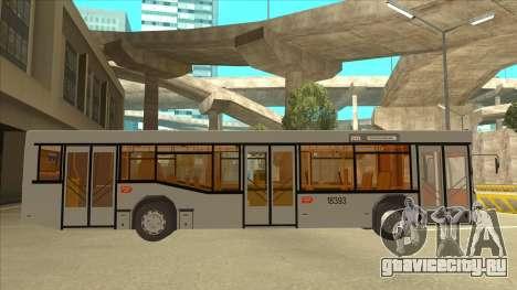 511 Sremcica Bus для GTA San Andreas вид сзади слева