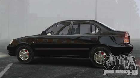 Hyundai Accent Admire для GTA 4 вид слева