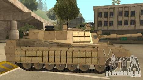 M69A2 Rhino Desierto для GTA San Andreas вид сзади слева
