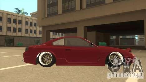 Nissan Silvia S18-5 для GTA San Andreas вид сзади слева