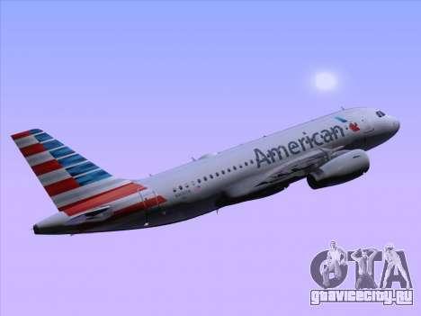 Airbus A319-112 American Airlines для GTA San Andreas