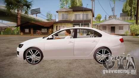 VW Jetta GLI 2013 для GTA San Andreas вид слева