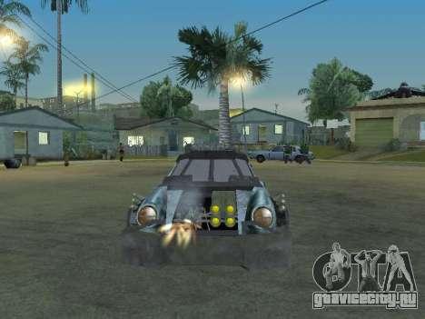 Porsche 911 Death Race для GTA San Andreas вид сзади
