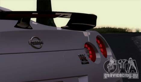 Nissan GT-R Carbon для GTA San Andreas вид справа
