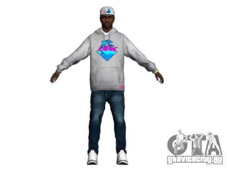 Raheem Sterling skin для GTA San Andreas