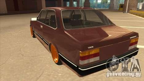 Chevrolet Chevette SLE 88 для GTA San Andreas вид сзади