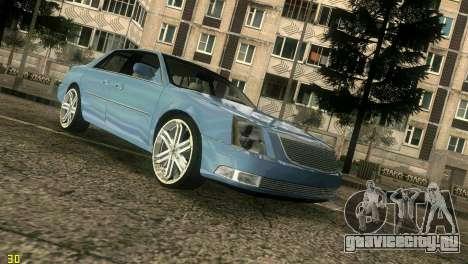 Caddy DTS DUB для GTA Vice City вид сзади слева