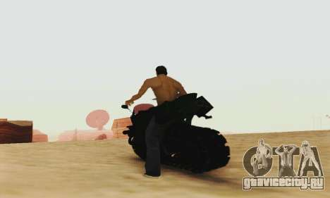 Mercenaries 2 Panzercycle для GTA San Andreas вид сзади