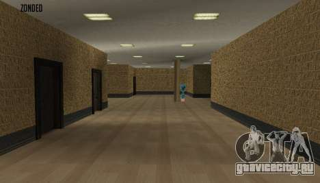 Ретекстур интерьера мэрии для GTA San Andreas второй скриншот