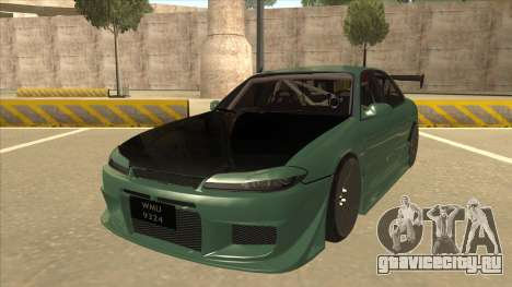 Proton Wira with s15 front end для GTA San Andreas