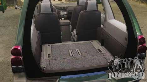 Chevrolet TrailBlazer SS 2008 для GTA 4 вид сзади