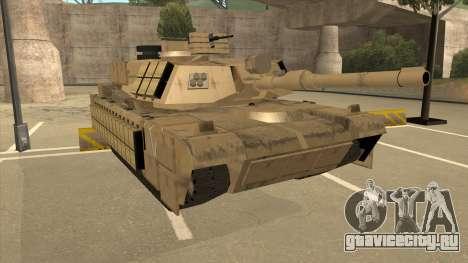 M69A2 Rhino Desierto для GTA San Andreas вид слева