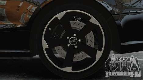Audi RS5 2011 v2.0 для GTA 4 вид сзади