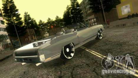 Chevy Monte Carlo для GTA Vice City вид слева