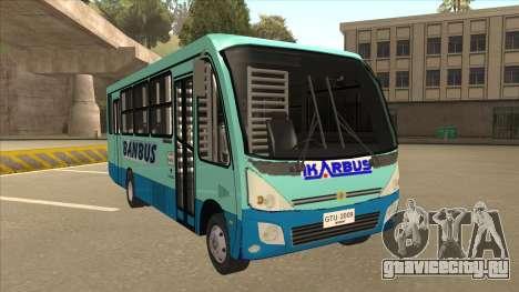 BANBUS Bus Srb. для GTA San Andreas вид слева