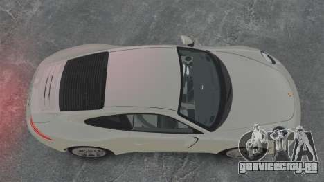Porsche 911 Carrera S 2012 v2.0 для GTA 4 вид справа