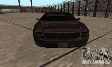 Washington из GTA 5 для GTA San Andreas вид сзади слева