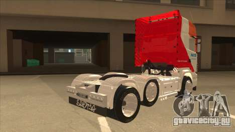 Scania R620 Nis Kamion для GTA San Andreas вид справа