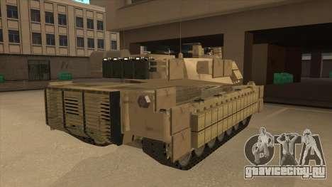 M69A2 Rhino Desierto для GTA San Andreas вид справа