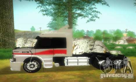 TopLine Scania 113 h 360 для GTA San Andreas вид слева