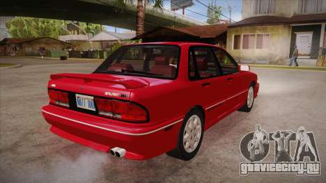 Mitsubishi Galant VR-4 (E39A) 1987 HQLM для GTA San Andreas вид справа
