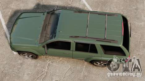 Chevrolet TrailBlazer SS 2008 для GTA 4 вид справа
