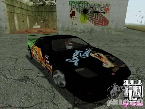 Super GT HD для GTA San Andreas вид сверху