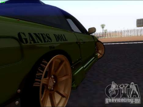 Nissan 180sx Takahiro Kiato для GTA San Andreas вид справа