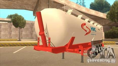 Полуприцеп Nis для Scania R620 Nis Kamion для GTA San Andreas