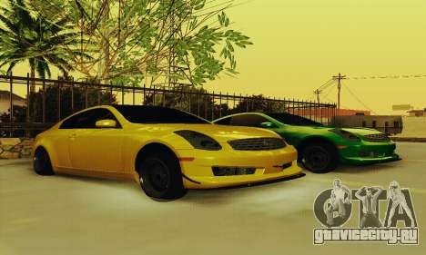 Infiniti G35 Hellaflush для GTA San Andreas