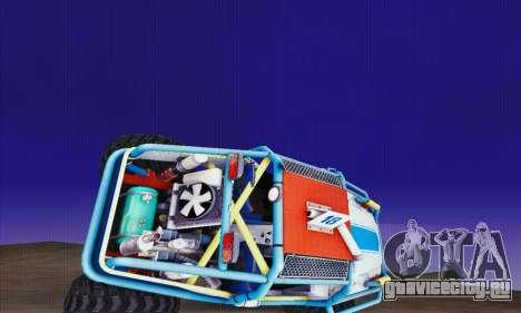 УАЗ Курсант для GTA San Andreas вид сзади