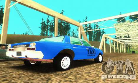 Fasthammer Taxi для GTA San Andreas вид справа