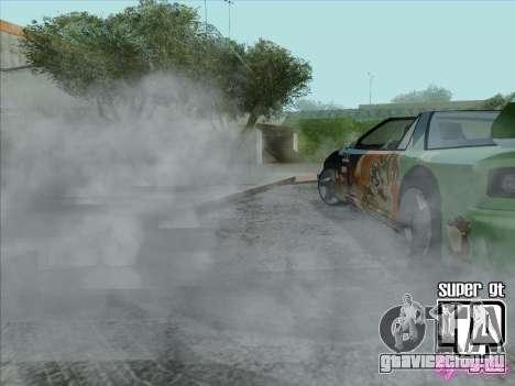 Super GT HD для GTA San Andreas вид снизу