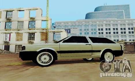 VW Parati GLS 1988 для GTA San Andreas вид слева