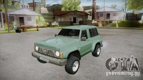 Nissan Patrol Y60 для GTA San Andreas двигатель