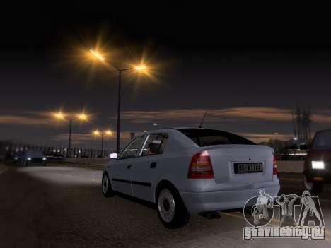 Opel Astra G для GTA San Andreas вид слева