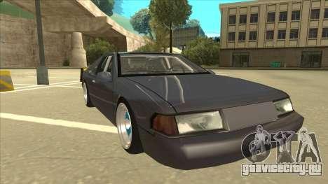 Fortune Drift для GTA San Andreas вид слева
