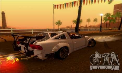 Nissan 380SX BenSopra для GTA San Andreas вид слева
