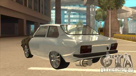 Dacia 1310 Sport Tuning для GTA San Andreas вид сзади