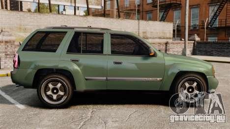 Chevrolet TrailBlazer SS 2008 для GTA 4 вид слева