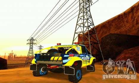 УАЗ 31514 Ралли для GTA San Andreas вид сбоку