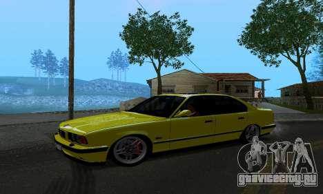 BMW M5 E34 IVLM v2.0.2 для GTA San Andreas вид слева